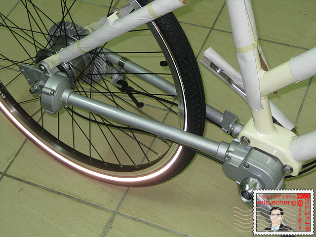 軸傳動 + 內變速 自行車 (Shaft Drive Bicycle) | 一個中年男子小鄭 Eric 2266 的生活 543 事