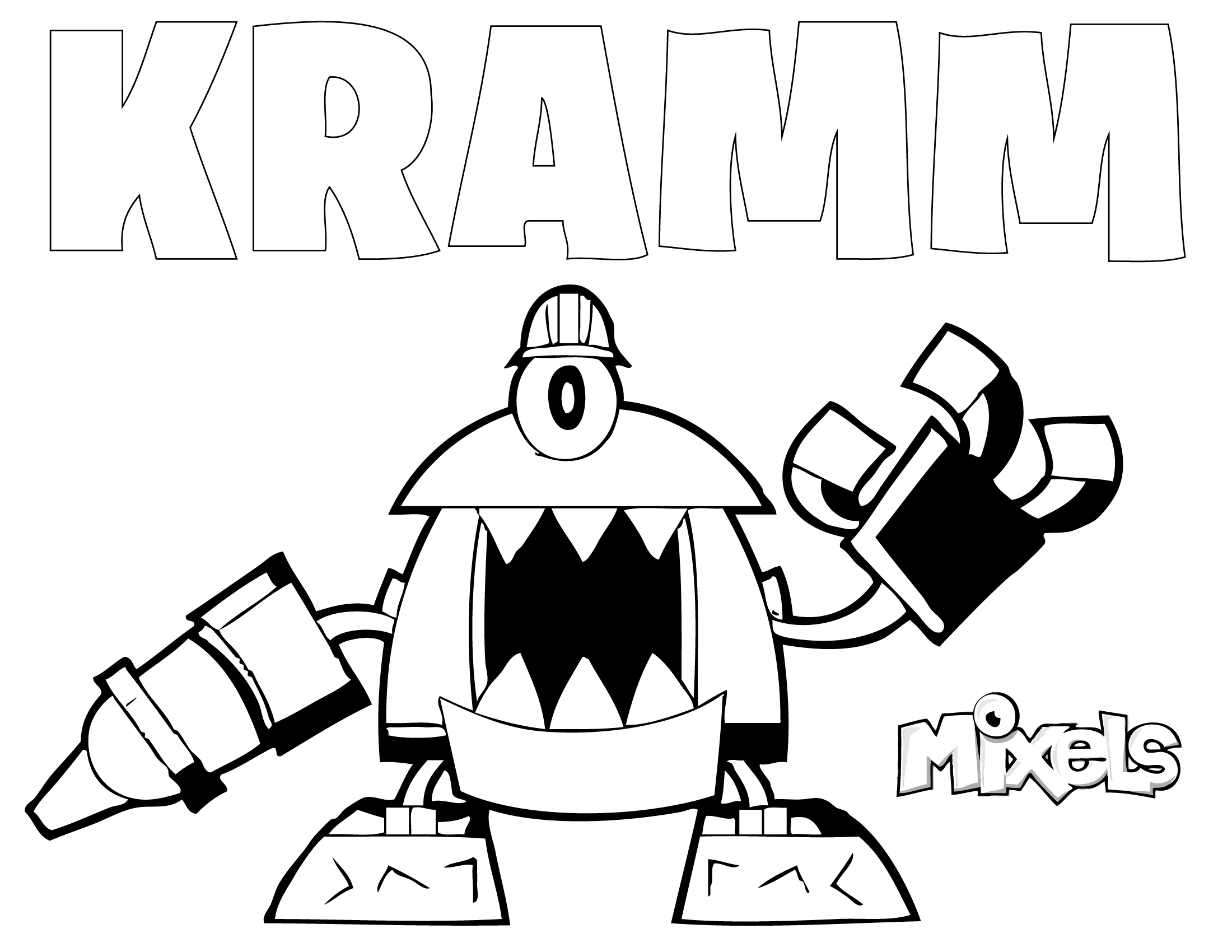 mixels coloring pages to print - photo#25