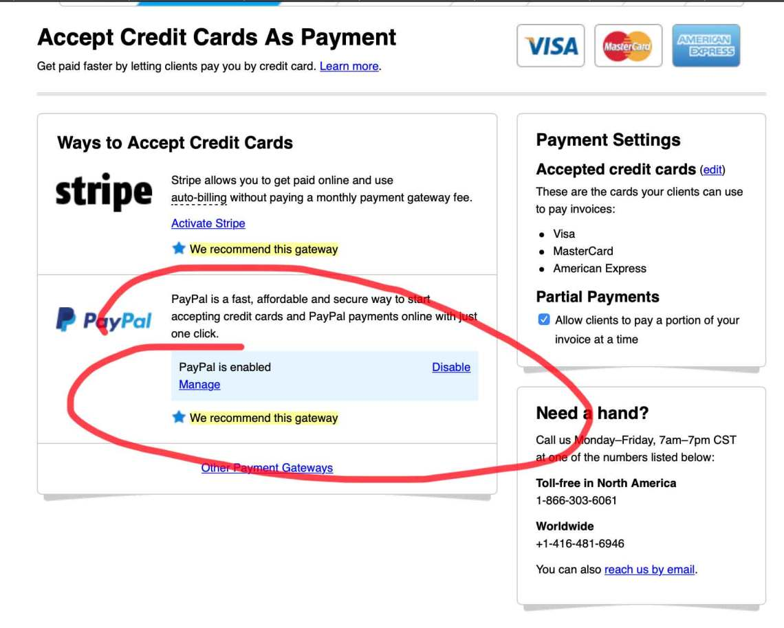 Step Three Lower PayPal Transaction Fees