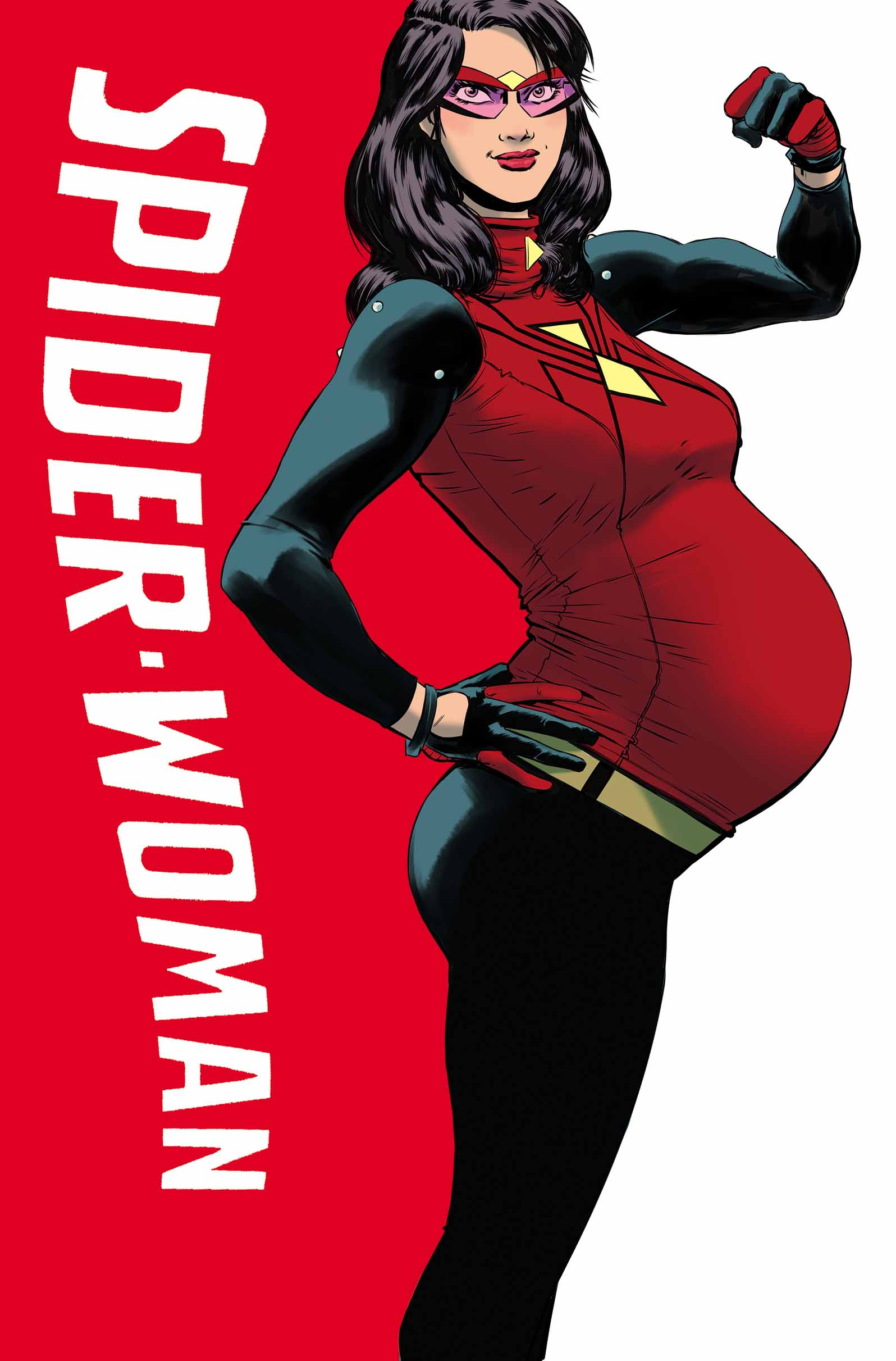 Baby on Board – Your First Look at Spider-Woman #1!