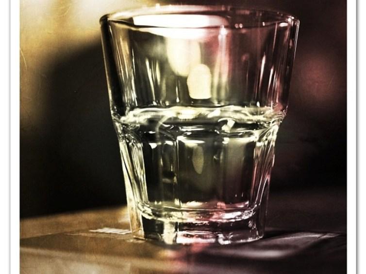 Fine Art Photography: Empty Glass