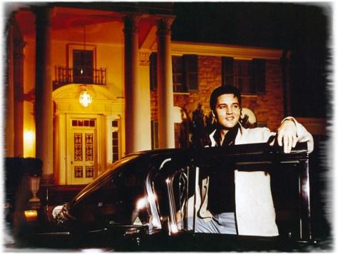 Elvis In Front Of Graceland
