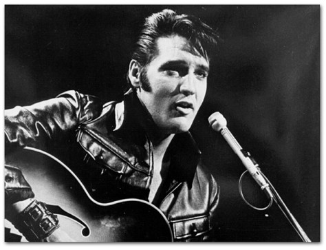 Elvis & Guitar 1968