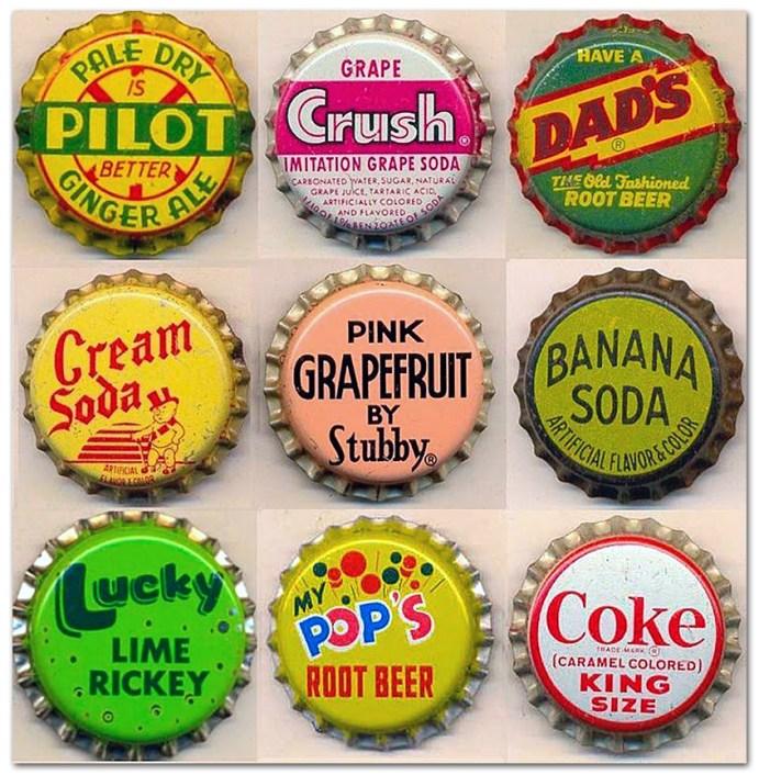 Vintage Bottle Caps 2