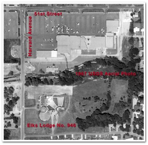 Elks Lodge 946 Aerial View
