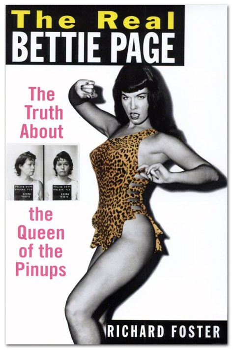 The Real Bettie Page Cover Richard Foster