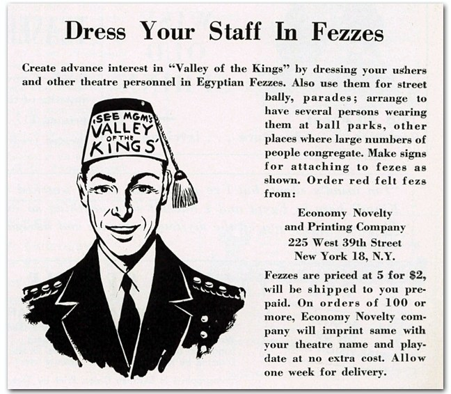 Dress Your Staff In Fezzes