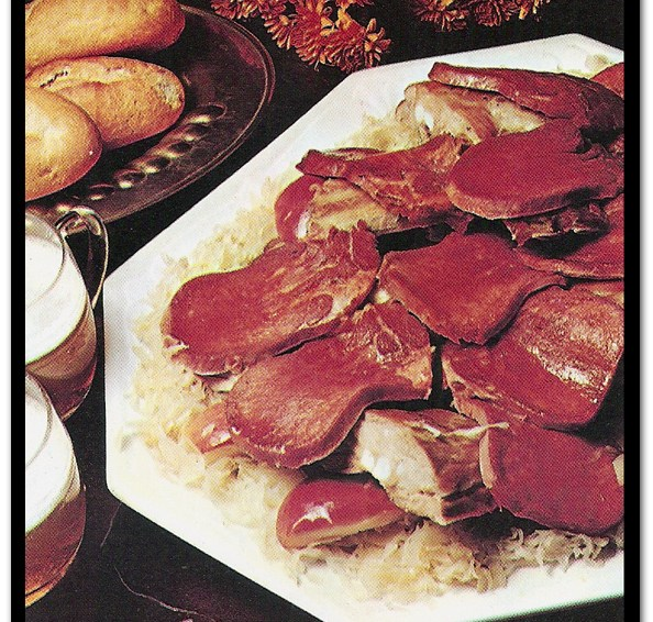 Awful Food: Sauerkraut And Tongue Casserole