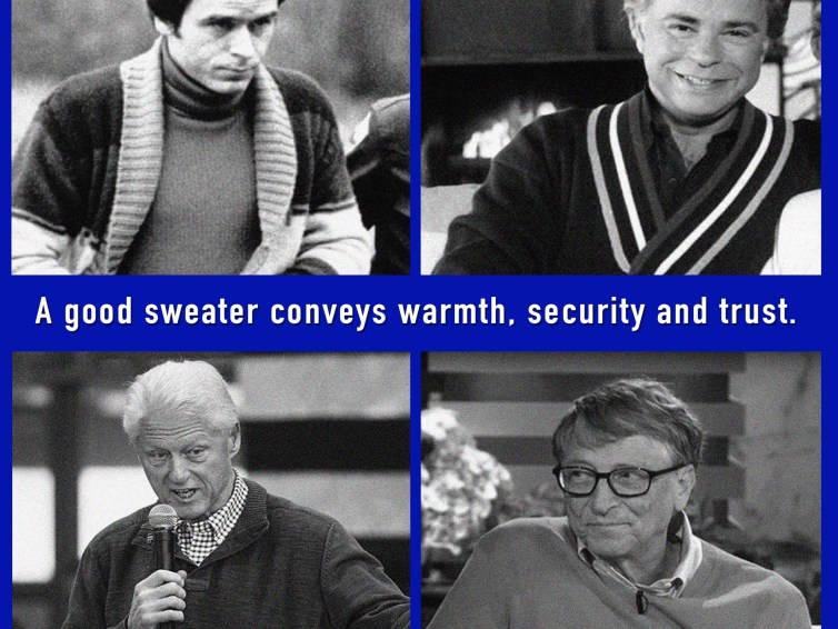 In Sweaters They Trust