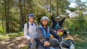 Our all-day motorcycle tour outside of Dalat