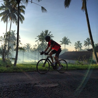 Erich Wegscheider Cycling In Bali