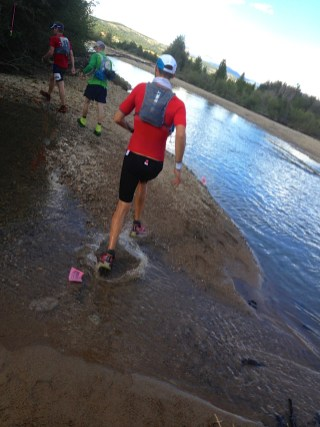 Erich Wegscheider at the 2014 Leadville Trail 100 Run