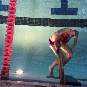 Erich Wegscheider Swimming with Tape Kinetics