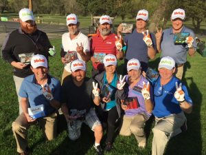 biggest loser golf contest participants