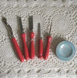 vintage dressmaking tools by Clover Japan