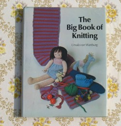 big book of knitting 1973