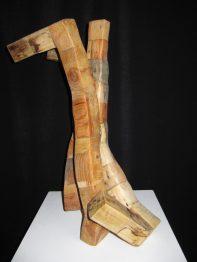 (VENDU)Les 3 G-asemblage de pieds de pallettes de livraison- 90x45cm
