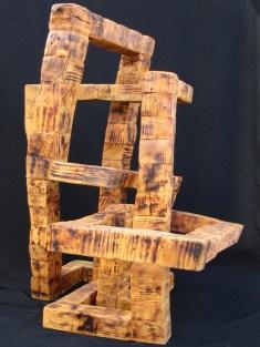 Colonne Sans Fin – Assemblage de pieds de palettes de livraison – 140 x 90 cm(VENDU)