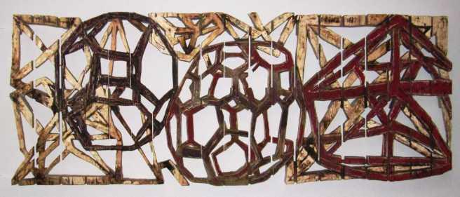 Polyèdres - 80x200cm