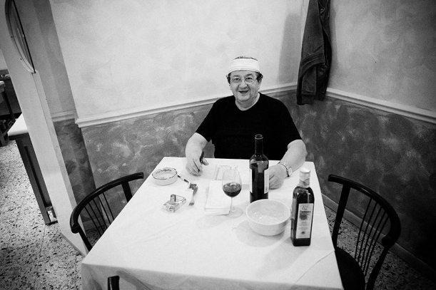Italian Resturant Owner. Rome, 2009