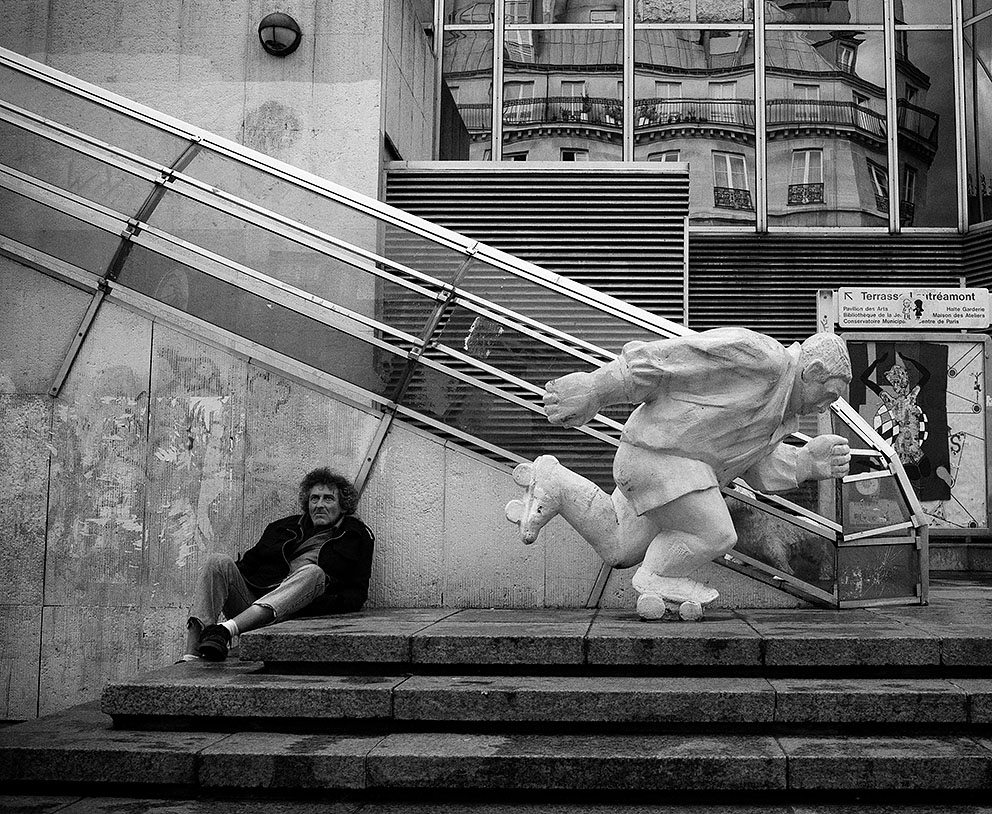 Skating. Paris, 2009
