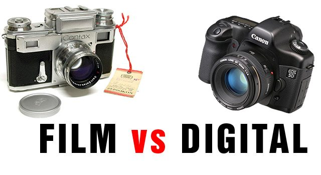 Film vs Digital Street Photography