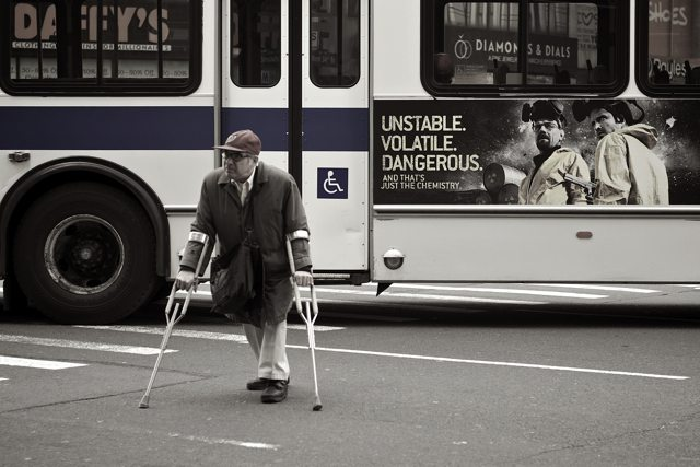 """Unstable. Volatile. Dangerous."" - New York 2010"