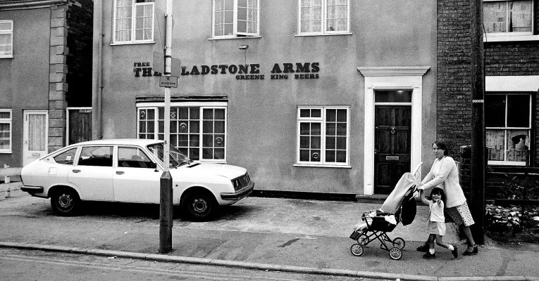 Interview with Chris Porsz: Soulful Black and White Images of Peterborough from the 80's