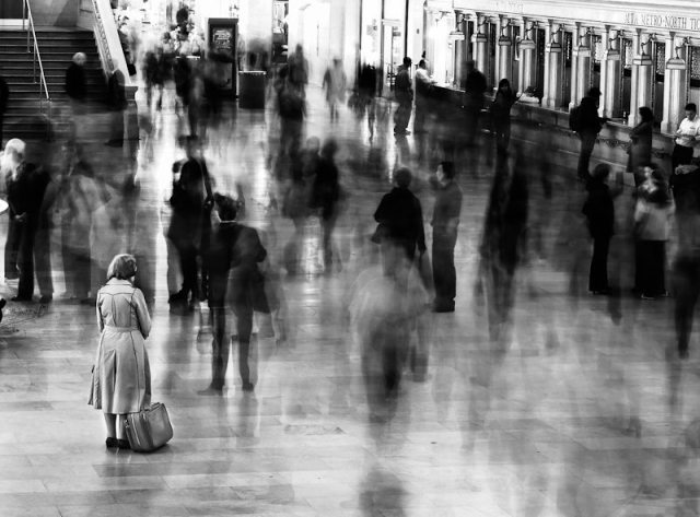 """Waiting in Grand Central"" - James Maher"