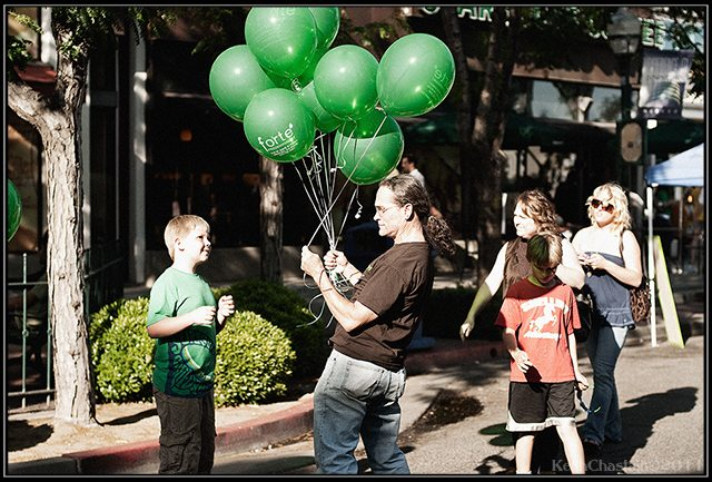 """""""Balloons...""""- Keith Chastain"""