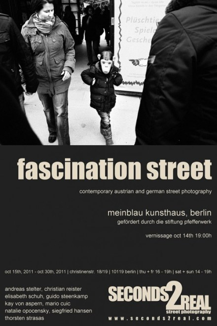 Seconds2Real Street Photography Exhibition in Berlin – October 15th