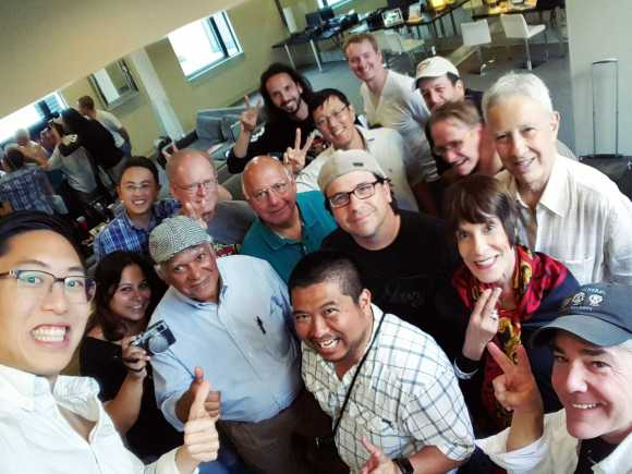 New Orleans Travel Street Photography Workshop group selfie, 2015