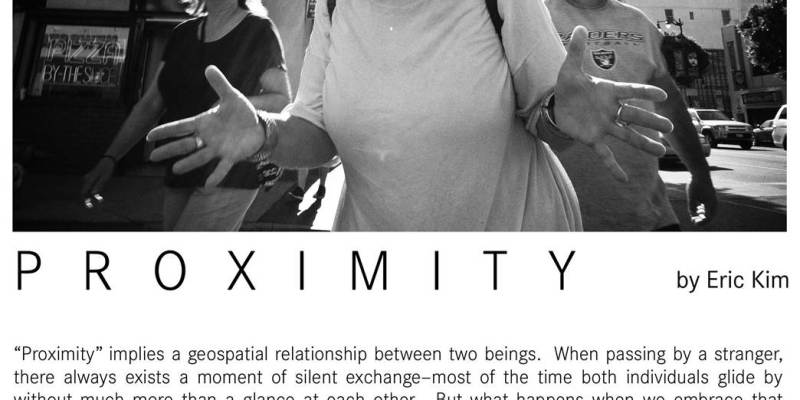 """""""Proximity"""" Street Photography Exhibition + Advanced Workshop in Singapore 1/13-1/15"""