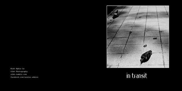 "Streettogs gallery Work in Progress: Minh Nghia's Photobook ""In Transit"""