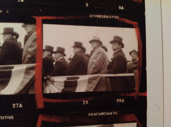 Robert Frank the Americans Crop - Contact Sheet