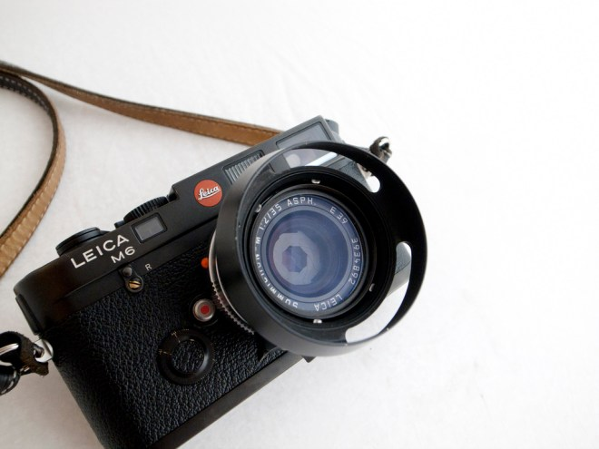 My favorite bang-for-the-buck film rangefinder: The Leica M6. You can get one on Japan Camera Hunter here.