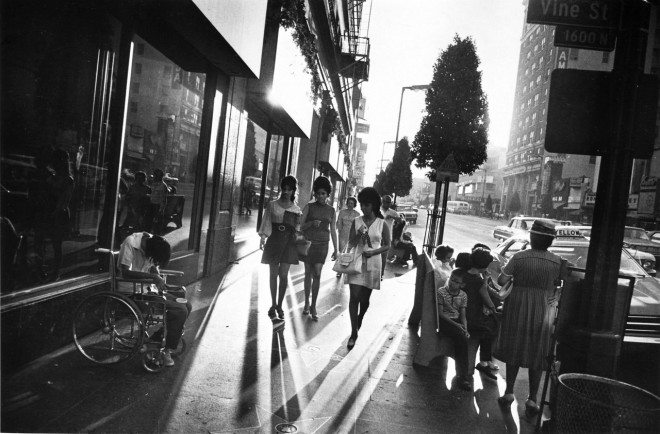 """Hollywood Boulevard""  © 1984 The Estate of Garry Winogrand"