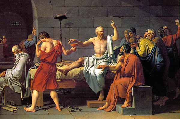 """Socrates, one of the greatest minds that have ever lived has stayed humble by saying: """"I know nothing"""""""