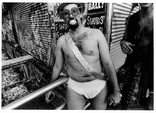 Happy New Year Man, Coney Island, 2010 © Harvey Stein