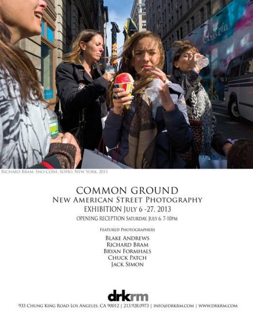 """""""Common Ground"""" Opening in Los Angeles, July 6-27th / Featuring: Blake Andrews, Richard Bram, Bryan Formhals, Chuck Patch, and Jack Simon"""