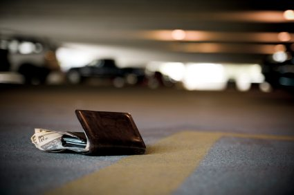 I'm sure we have all lost our wallets -- and gratefully recovered them at one points in our lives.