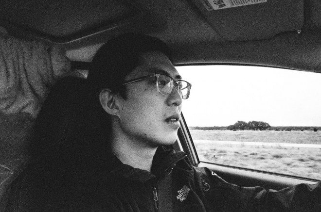 Driving on the freeway. Photo by Cindy Nguyen