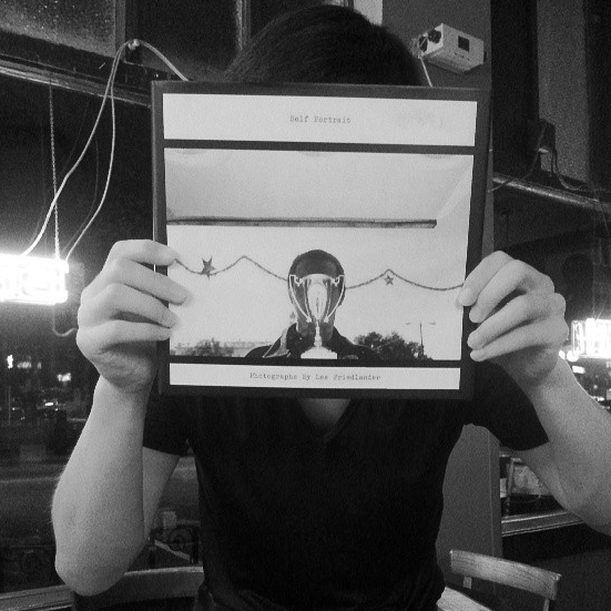 """Thanks to Servando Gomez for this awesome """"Self Portrait"""" book by Lee Friedlander!"""
