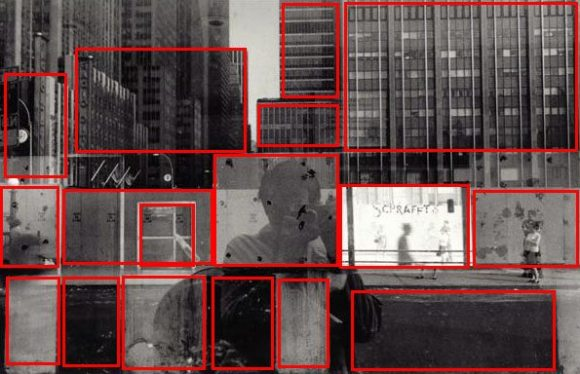 Figure 1: Some of the rectangular boxes in the shot.
