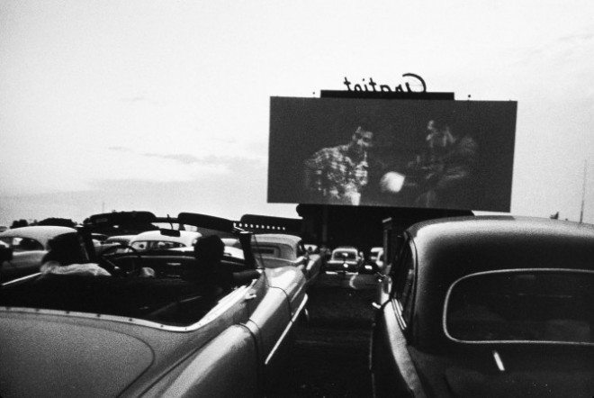 Drive-in movie, Detroit 1955 © Robert Frank