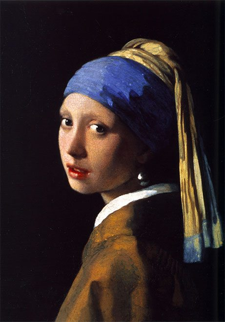 """Girl with the Pearl Earring"" by Johannes Vermeer, 1665"