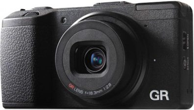 """The Ricoh GRD V, """"only"""" $800-- which feels like a bargain compared to everything else. Still a lot of money, though."""