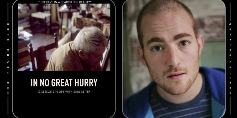 """Director Tomas Leach Discusses """"In No Great Hurry: 13 Lessons In Life With Saul Leiter"""""""