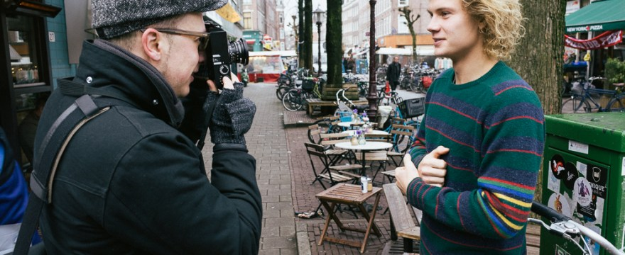 Behind the Scenes: Amsterdam Introduction to Street Photography Workshop 2014
