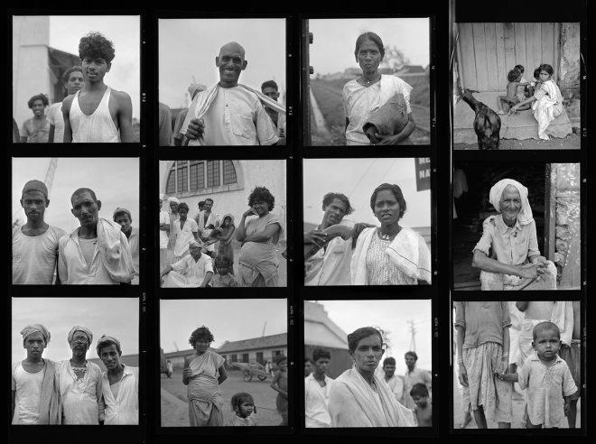 Vivian Maier Contact Sheet / Kochi, India 1959
